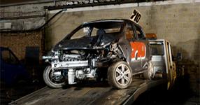 Hyuandi I10 Banger Racing